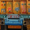 Iconography and calligraphy provide each Indian truck with a unique visual identity. From romantic poetry to calls for safe driving, writings on the bonnet of an Indian truck exhibit at once a truck owner's or a driver's taste for humour as well as a sense of social responsibility (Courtesy: Dinesh Kafle)