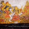 Painting of Tanjore Quartet at Brihadisvara temple, Tanjavur (Photo from Kittappa Pillai's family collection)