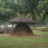 Kudakkal (umbrella stone) at Cheramanangad, Thrissur District, Kerala