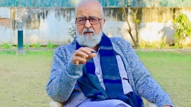 Sohail Hashmi is a renowned academician, historian and filmmaker based in Delhi (Courtesy: Ashish Kumar Yadav)
