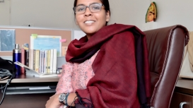 Suvrata Chowdhary is assistant professor at the Department of Sociology, Presidency University, Kolkata (Courtesy: Ashish Kumar Yadav)