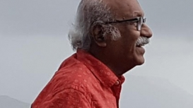 Professor Sudhakar Nadkarni is a pioneer in design education in India (Courtesy: Chandrika Acharya)