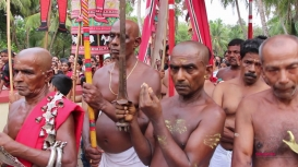 Embedded thumbnail for Poorakkali Festival in North Kerala: The Ritual of Breaking Coconuts