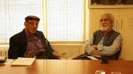 Embedded thumbnail for S. Irfan Habib in Conversation with S. M. Razaullah Ansari: Discipline of History of Sciences