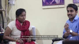 Embedded thumbnail for Vighnesh Hampapura in Conversation with Bhagirathi Bai Kadam: Living Theatre