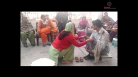 Embedded thumbnail for Jat Haryanvi Marriage Rituals: Tael Chadhana